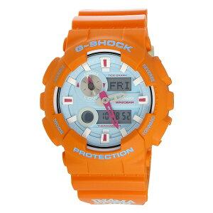 カシオCASIOGショックG-SHOCKGライドIn4mationコラボメンズ腕時計時計GAX-100X-4Aブルー/オレンジ【ポイント10倍】【_包装】