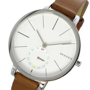 スカーゲンSKAGENハーゲンHAGENクオーツレディース腕時計時計SKW2434ホワイトシルバー【ポイント10倍】【_包装】