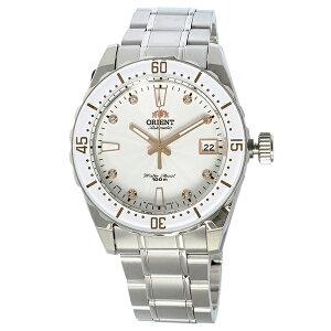 オリエントORIENT自動巻きユニセックス腕時計時計SAC0A002W0ホワイト【ポイント10倍】【_包装】