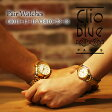 【ペアウォッチ】クリオブルー Clio Blue クオーツ 長針と短針が重なると可愛い 魚ロゴ 腕時計 CB010-13-1B/CB010-23-1B ホワイト【送料無料】【ポイント10倍】【楽ギフ_包装】