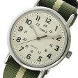 タイメックス TIMEX ウィークエンダー Weekender クオーツ ユニセックス 腕時計 時計 TW2P72100 ホワイト【ポイント10倍】【楽ギフ_包装】