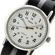 タイメックス TIMEX ウィークエンダー Weekender クオーツ ユニセックス 腕時計 時計 TW2P72200 ホワイト【ポイント10倍】【楽ギフ_包装】