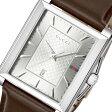グッチ GUCCI レクタングル クオーツ メンズ 腕時計 YA138405 シルバー【送料無料】【ポイント10倍】【楽ギフ_包装】