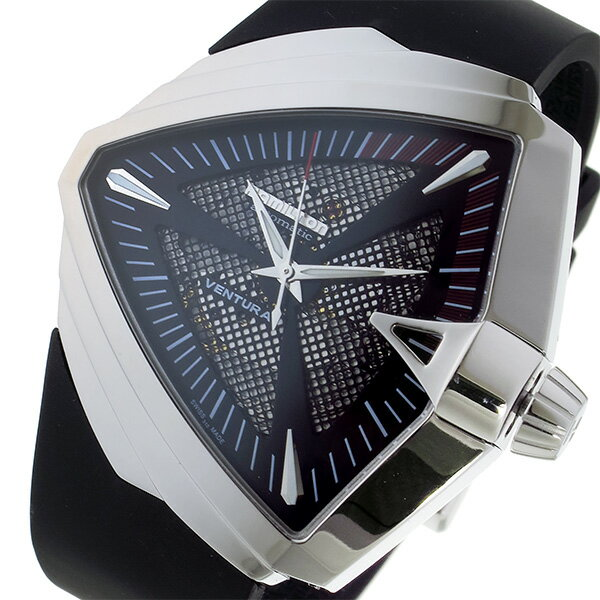 ハミルトン HAMILTON ベンチュラ XXL 自動巻き メンズ 腕時計 H24655331 ブラック【ポイント10倍】【楽ギフ_包装】:リコメン堂