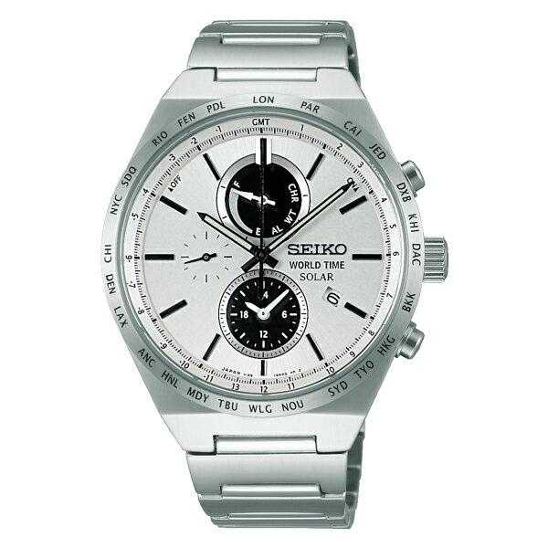 セイコー SEIKO セイコー セレクション ソーラー メンズ 腕時計 時計 SBPJ021 国内正規【ポイント10倍】【楽ギフ_包装】:リコメン堂