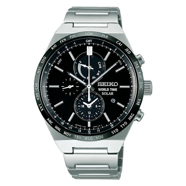 セイコー SEIKO セイコー セレクション ソーラー メンズ 腕時計 時計 SBPJ025 国内正規【ポイント10倍】【楽ギフ_包装】:リコメン堂