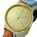 コモノ KOMONO Wizard Print-Tropicalia クオーツ レディース 腕時計 時計 KOM-W1834 ゴールド