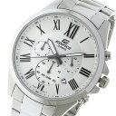 カシオ CASIO エディフィス EDIFICE クオーツ メンズ 腕時計 時計 EFV-500D-7AV ホワイト【ポイント10倍】