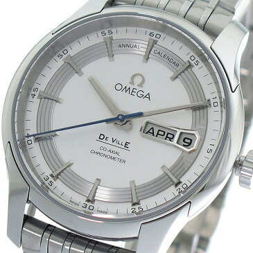 オメガ OMEGA デビル DE VILLE 自動巻き メンズ 腕時計 431.30.41.22.02.001 ホワイトシルバー/シルバー【送料無料】【ポイント10倍】【楽ギフ_包装】