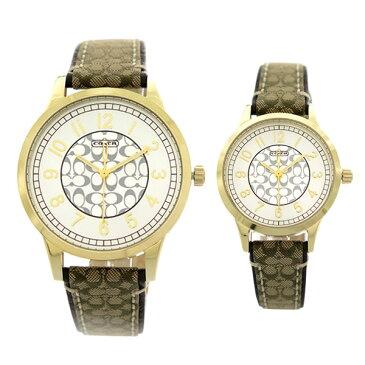 ペアウォッチ コーチ COACH 腕時計 時計 メンズ レディース 14000043 クォーツ シルバー 【ポイント10倍】【楽ギフ_包装】