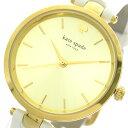 ケイトスペード KATE SPADE 腕時計 時計 レディース KSW1117 クォーツ ゴールド ホワイト【S1】