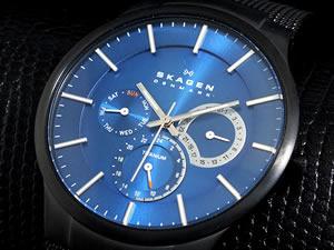 スカーゲン SKAGEN 腕時計 チタン 809XLTBN