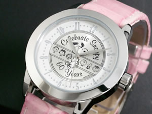SNOOPY スヌーピー 生誕60周年記念モデル 腕時計 SNP-P