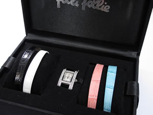 FolliFollieフォリフォリ腕時計替えベルト4本付きWF5T082【送料無料】【40%OFF】【セール】