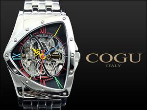 コグCOGU腕時計流通限定モデル自動巻きフルスケルトンBNT-BKC【送料無料】【67%OFF】【セール】【YDKG円高還元ブランド】