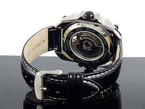 コグCOGUデュアルタイム自動巻き腕時計メンズC57-WH【送料無料】【59%OFF】【セール】【YDKG円高還元ブランド】