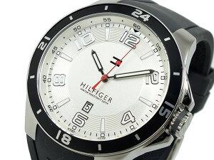 トミーヒルフィガー腕時計時計メンズ1790863シルバーホワイト×グレー【YDKG円高還元ブランド】【ポイント10倍】【_包装】