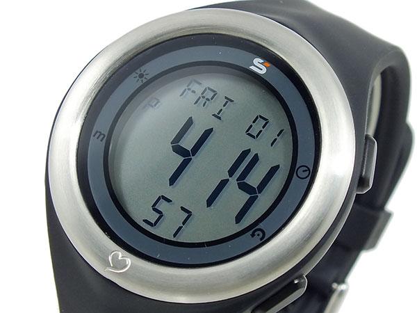 ソーラス SOLUS 心拍計測機能付き デジタル 腕時計 時計 01-910-001