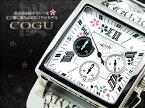 コグ COGU 桜 SAKURA 流通限定 クロノグラフ メンズ 腕時計 時計 BNSKR-WH【ポイント10倍】
