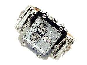 ドルチェメディオDOLCEMEDIOクオーツメンズクロノ腕時計時計DM8018-WHBR【YDKG円高還元ブランド】【ポイント10倍】【_包装】