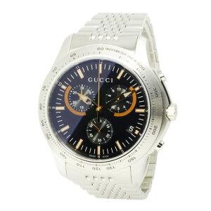 グッチGUCCIGタイムレスクオーツメンズクロノ腕時計YA126257【送料無料】【ポイント10倍】【_包装】