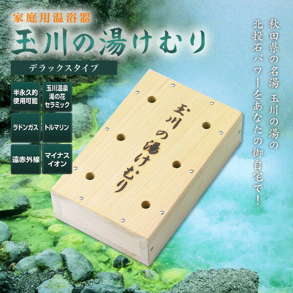 家庭用温浴器 玉川の湯けむり(デラックスタイプ)【S1】:リコメン堂