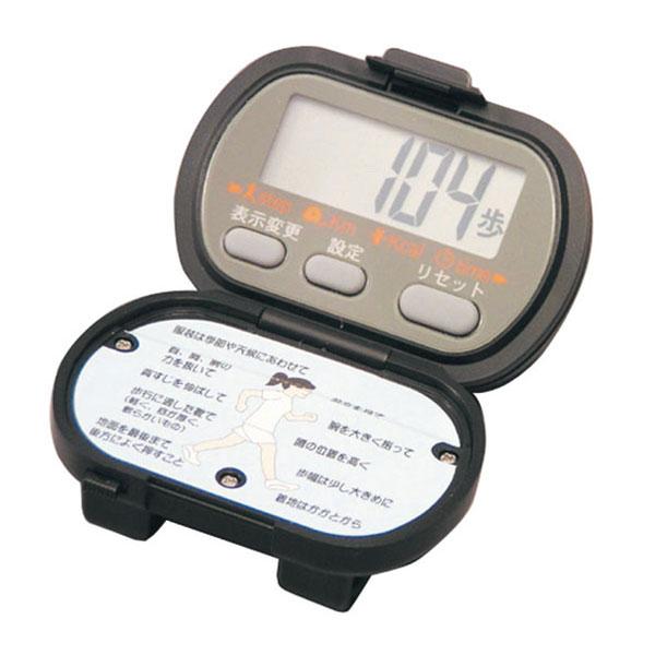 【SPALDING】スポルディング デジタル歩数計 高輝度LEDライト付 ブラック NO3700BK /20点入り(代引き不可)【S1】:リコメン堂