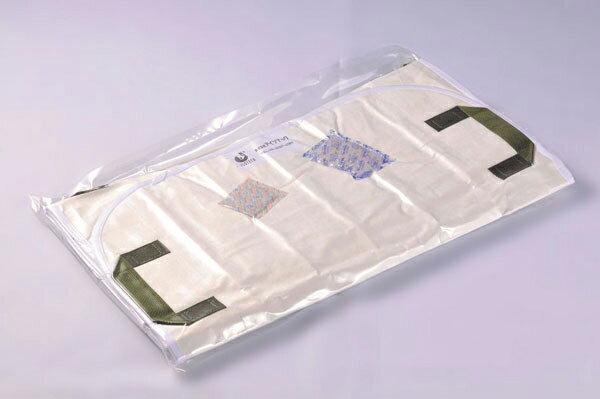 救護マット「アイマット」丸型収納 日本製 三つ折収納/10点入り(代引き不可)【S1】:リコメン堂