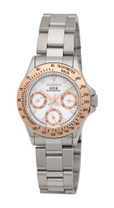 【AUREOLE】オレオールレディース腕時計SW-581L-524時間表示付日付・曜日10気圧防水/5点入り(き)【ポイント10倍】【RCP】