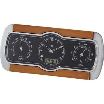 温湿度電波クロック C-8271 温湿度電波クロック C-8271/60点入り(代引き不可)【ポイント10倍】