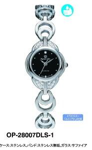 【OPYMPIASTAR】オリンピアスターレディース腕時計OP-28007DLS-1アナログ表示スイス製ム−ブ3気圧/5点入り(き)【ポイント10倍】【RCP】