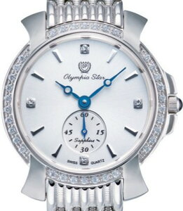 【OPYMPIASTAR】オリンピアスターレディース腕時計OP-58045DLS-3アナログ表示スイス製ム−ブ3気圧/1点入り(き)【ポイント10倍】【RCP】