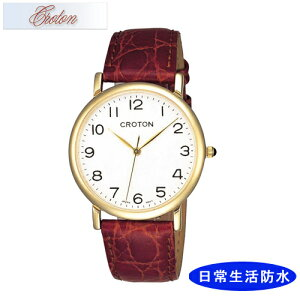 【CROTON】クロトンメンズ腕時計RT-125M-2アナログ表示日常生活用防水/10点入り(き)【ポイント10倍】【RCP】
