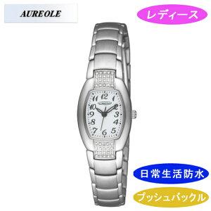 【AUREOLE】オレオールレディース腕時計SW-469L-6アナログ表示日常生活用防水/10点入り(き)【ポイント10倍】【RCP】