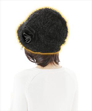 髪型がくずれにくい あったか小顔ふんわり帽子 /32点入り(代引き不可)【送料無料】【ポイント10倍】