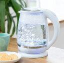 ガラスケトル 2.0L 電子ケトル KDKE-20AW 湯沸