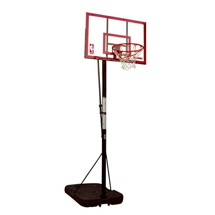 バスケットゴール 屋外用 SPALDING スポルティング 44インチ ポリカーボネイトポータブル 72351CN バスケ バスケット(代引不可)【ポイント10倍】:リコメン堂