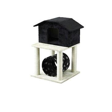 PAW-PAW CAT CONDO キャットコンド 小さいお家 トンネル 猫 遊び場 組立式(代引不可)【送料無料】【ポイント10倍】