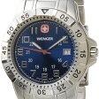 WENGER ウェンガー 腕時計 WEN72618 メンズ マウンテイナー ブルー/シルバー【ポイント10倍】