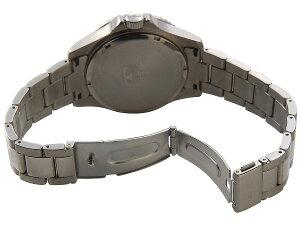 テクノスTECHNOS腕時計T4323IBオリジナルモデルフルチタン製ダイバーモデル軽量95gブラック×シルバーメンズ【ポイント10倍】【送料無料】【smtb-f】