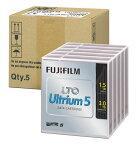 <LTOテープ>富士フイルムコンピューターメディア( LTO Ultrium 5 / 非圧縮時1.5TB・圧縮時3.0T 5巻パック品 ) LTO FB UL-5 1.5T JX5(代引き不可)【ポイント10倍】