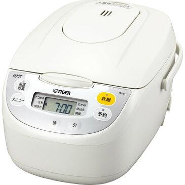 タイガー マイコン炊飯ジャー(5.5合) ホワイト 電化製品 電化製品調理機器 炊飯器 JBH-G101W(代引不可)【ポイント10倍】【送料無料】