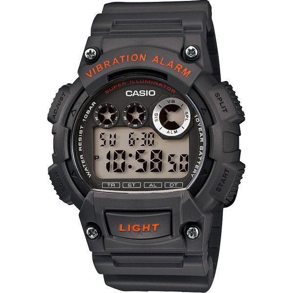 CASIO カシオ メンズ腕時計 レッド 装身具 紳士装身品 紳士腕時計 W-735H-8AJF(代引不可)【ポイント10倍】