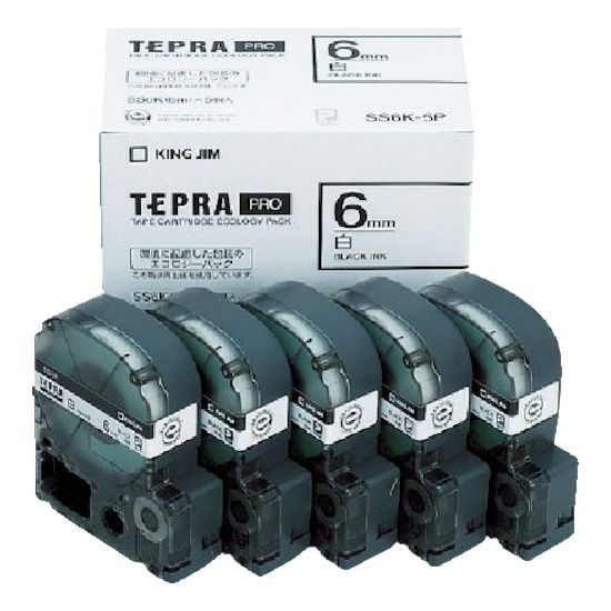 オフィス機器用アクセサリー・部品, ラベルライター用テープ・リフィル  PRO SS6K5P