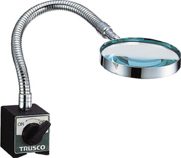 TRUSCO マグネット付拡大鏡 倍率2倍【TMK-80】(マグネット用品・マグネットルーペスタンド)【ポイント10倍】