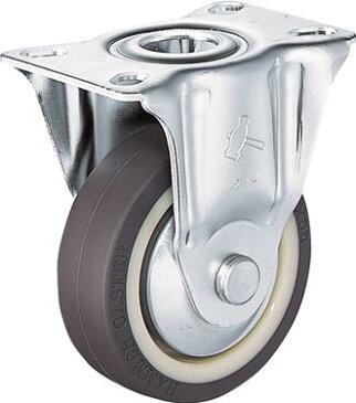 ハンマー S型 固定 ウレタン車B入り100mm【420SR-UB100-BAR01】(キャスター・プレート式ウレタン車)【ポイント10倍】