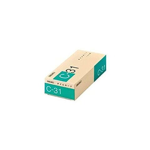 セイコープレシジョン タイムカードC-31 1-130-0180
