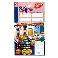 ラベル・ステッカー, ラベル用紙  PC PC-7