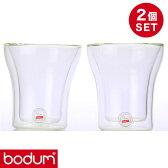 bodum ボダム グラス ダブルウォールグラス 0.2L 2個セット ASSAM DWG 4555-10US【あす楽対応】【ポイント10倍】
