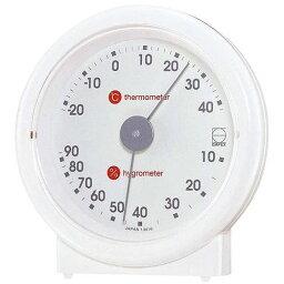 EMPEX (エンペックス) 温度・湿度計 リビ温・湿度計 置用 LV-4601 ホワイト